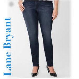 Lane Bryant Genius Fit Skinny Jeans Sz 18 Regular